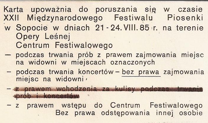 Festiwal piosenki 001