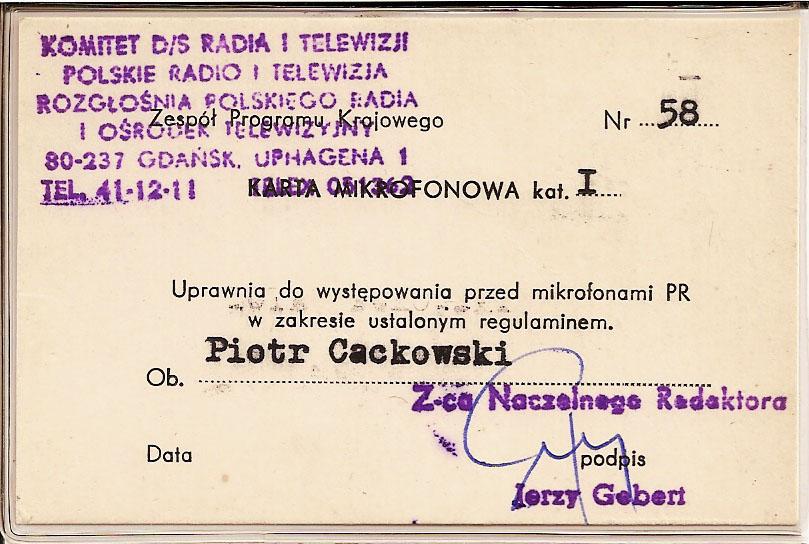 Karta mikrofonowa