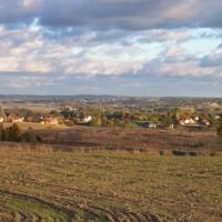 Żukowo wieś panorama