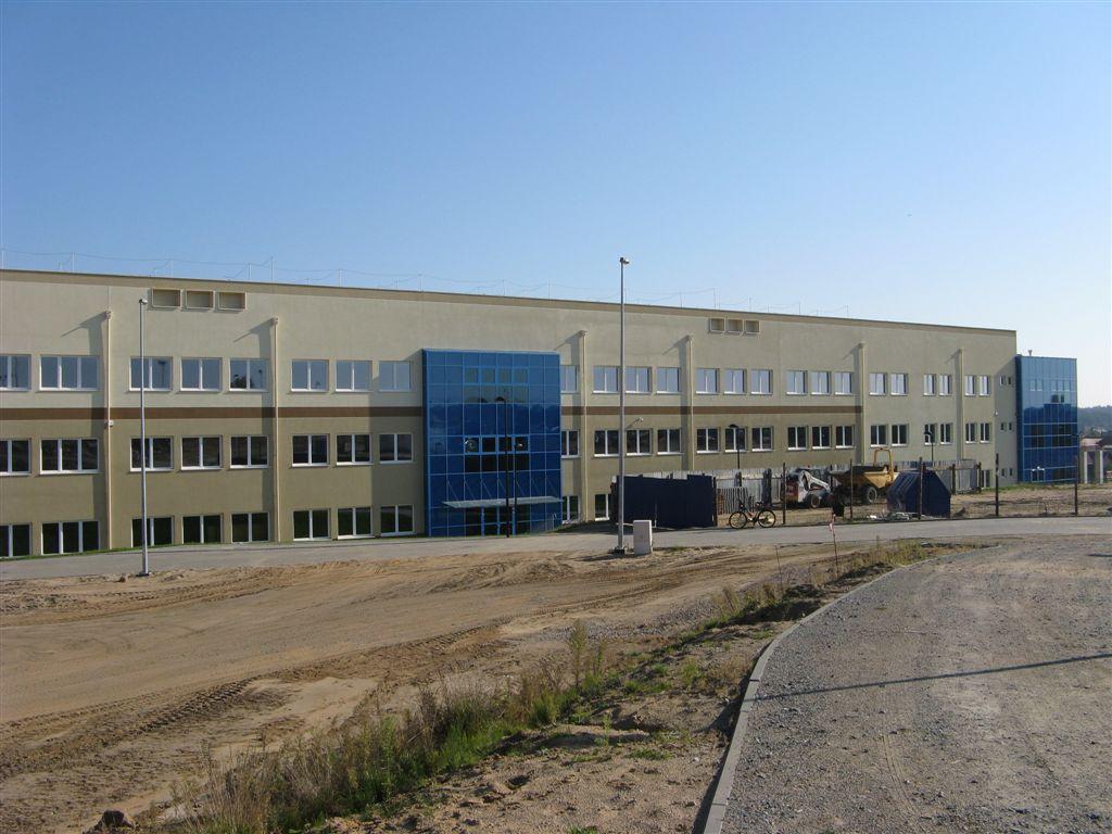 Szkoła Banino plac budowy